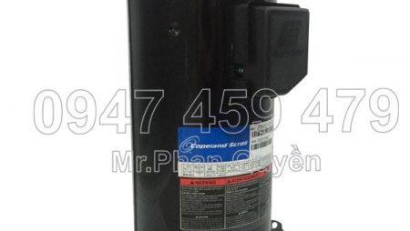Thay block máy lạnh Copeland 12HP ZR144 cho điều hòa trung tâm