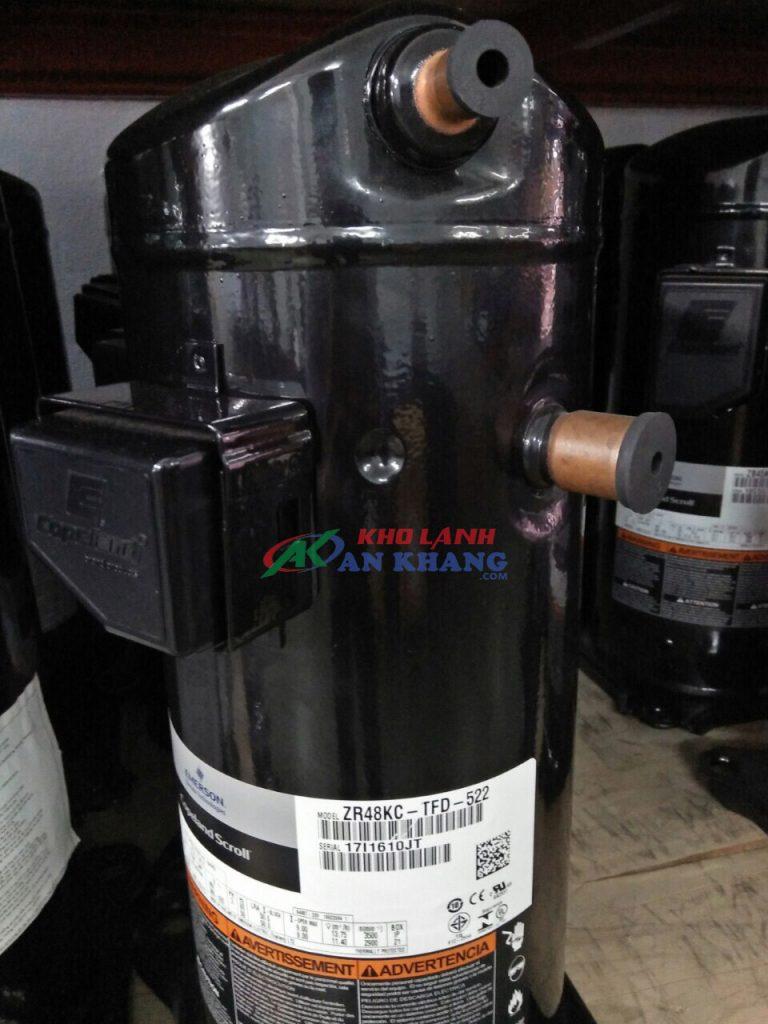 Block máy nén Copeland ZR48KC-TFD-522 4hp